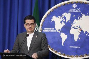 موسوی خبر لغو موقتی برخی تحریم ها را کذب خواند