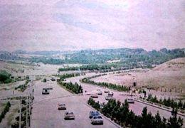 رودخانه اتوبان شهید باکری در تهران طغیان کرد + فیلم