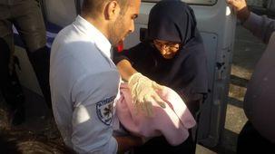 یک نوزاد در متروی دروازه دولت تهران متولد شد
