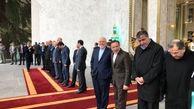 تصاویری از بازگشت ظریف به دولت + عکس
