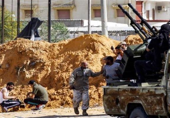 عملیات نیروهای دولت وفاق علیه نیروهای حفتر در طرابلس