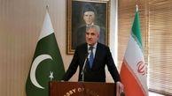 وزیر خارجه پاکستان از تهران به مشهد  سفر کرد