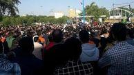 حضور چند نماینده مجلس در جمع کارگران هفتتپه، بعد از ۴۹ روز اعتراض