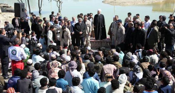 مشکلات مردم مناطق سیلزده استان سیستان و بلوچستان را حل خواهیم کرد