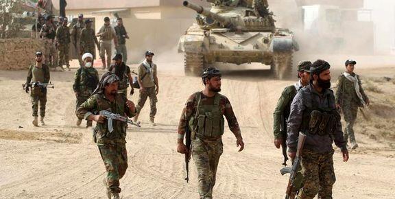 نیروهای الحشد الشعبی در نزدیکی مرز عربستان  مستقر شدند