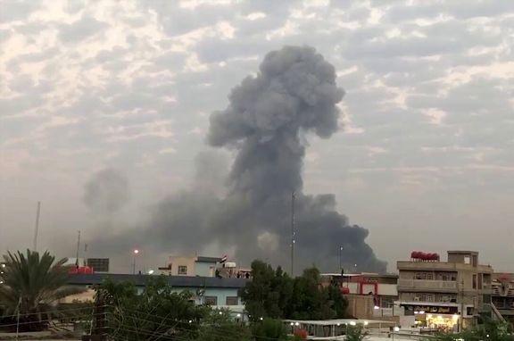 منطقه سبز بغداد دوباره با اثابت موشک مواجه شد