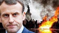 بازداشت بیش از ۱۵۰ نفر از تظاهراتکنندگان در پاریس/ ماکرون معترضان را «جنایتکار» خواند