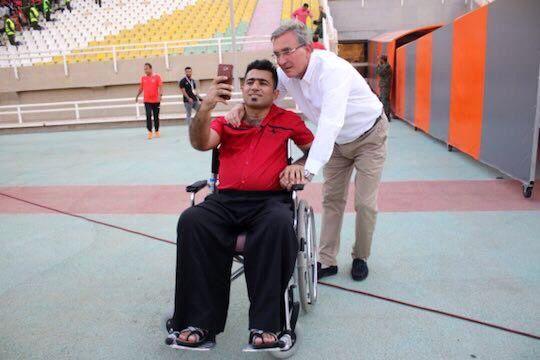تصاویر دردناک از مصدومیت هواداران خوزستانی+ عکس