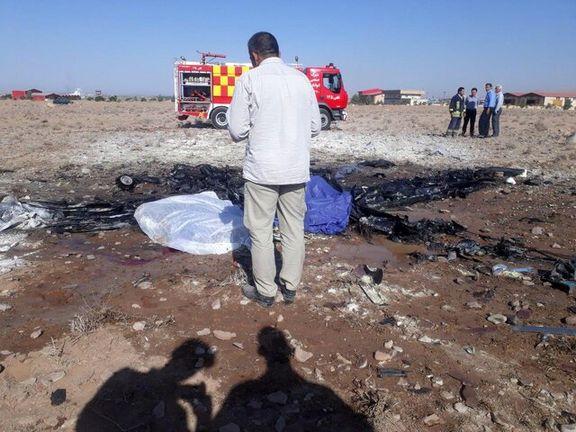 جزئیات سقوط هواپیمای آموزشی در ایوانکی + عکس و اسامی جان باختگان