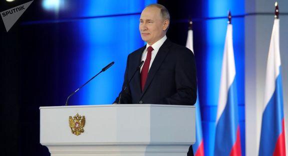 پیشنهاد پوتین به پارلمان برای برگزاری رفراندوم در اصلاحات قانون اساسی روسیه