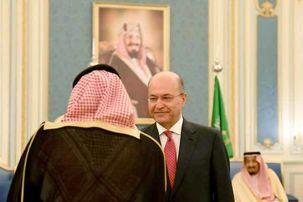 محورهای گفتگو برهم صالح با ملک سلمان چه بود؟
