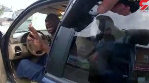 فیلم جدید از لحظه بازداشت جورج فلوید + فیلم