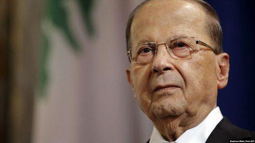 میشل عون دخالت حزبالله در دولت جدید لبنان را رد کرد
