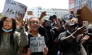 تظاهرات مردم آلمان در همبستگی با معترضان ضد نژادپرستی در آمریکا