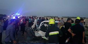 برخورد دو خودروی پراید در محور خورموج/ چهار نفر کشته شدند