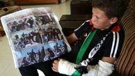 برادر 15 ساله عهد التمیمی با دست شکسته در کرانه باختری بازداشت شد