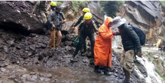 بارش شدید باران در هند 28 نفر را به کام مرگ فرستاد