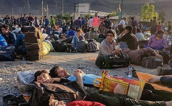 کارگران افغانستانی در حال رفتن از ایران هستند اما این بار به صورت کاملا اختیاری