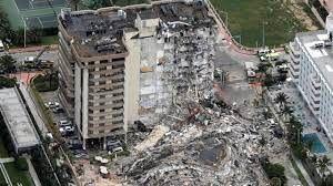 وضعیت ساختمان فروریخته فلوریدا بعد از ۱۱ روز