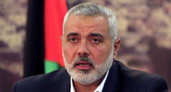 رئیس دفتر سیاسی جنبش حماس به مصر سفر می کند