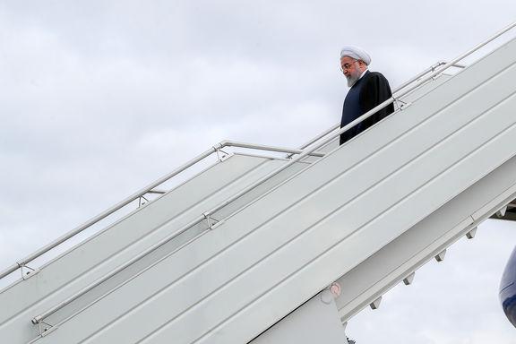 حسن روحانی وارد بغداد شد