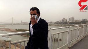 خوزستان در زیر گرد و خاک محو شد