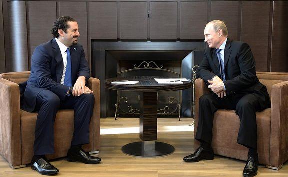 سعد حریری امروز وارد مسکو شد و قصد دارد با پوتین دیدار کند