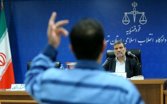فرزند علی محمد آزاد استاندار پیشین ایلام متهم اول البرز ایرانیان امروز محاکمه شد