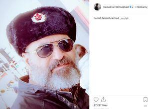 حمید فرخنژاد تیپ کمونیستی زد+ عکس