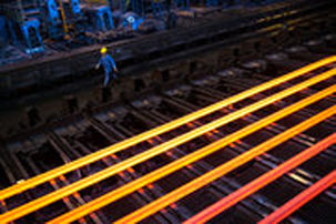 تولید فولاد ایران ۴۶.۷ درصد افزایش یافت