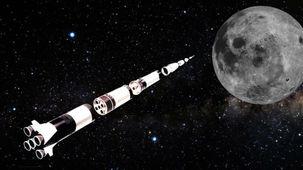ساترن 5 چگونه انسان را به ماه رساند؟ + عکس