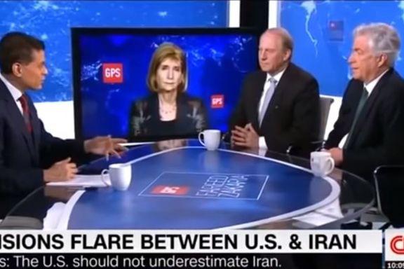 میزگرد سی ان ان درباره ایران با حضور دو کارشناس برجسته سیاست خارجی / برنز: سیاست موسوم به فشار حداکثری  قماری پرریسک است
