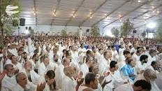 حضور حجاج در صحرای عرفات و برگزاری دعای عرفه