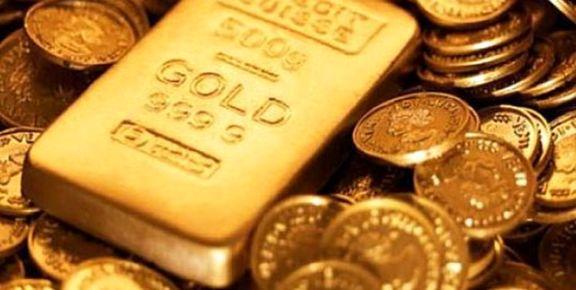 کاهش قیمت طلا در بازارهای جهانی / هر اونس طلا 1564 دلار