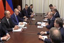 دیدار مقامات ترکیه روسیه در پایتخت آلمان