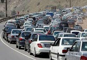 ترافیک های جاده ای شمال کشور  آغاز شد