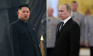 ولادیمیر پوتین از رهبر کره شمالی برای دیدار در مسکو دعوت کرد