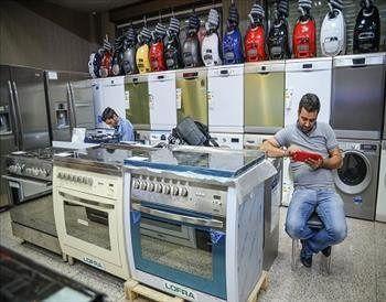 بیشترین میزان کاهش تولید لوازم خانگی  مربوط به ماشین لباسشویی است