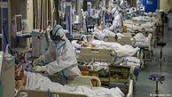 فوت ۳۴۴ بیمار کرونایی در شبانه روز گذشته