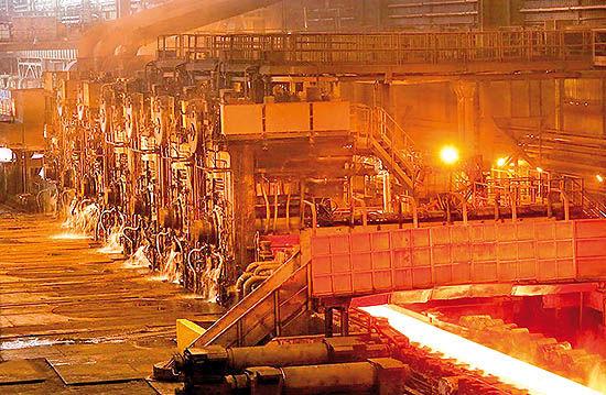 میزان 70 درصد ظرفیت پیشبینیشده تولید فولاد تحقق یافت