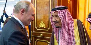 جرئیات  کنفرانس خبری پوتین و پادشاه عربستان