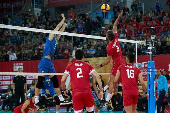 تیم ملی والیبال ایران به المپیک توکیو صعود کرد