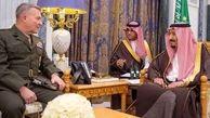 فرمانده سنتکام با شاه سعودی دیدار کرد