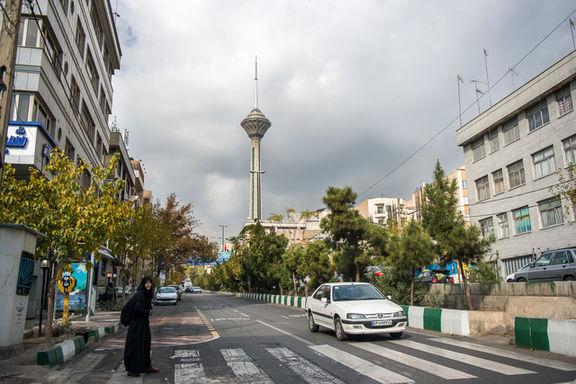 وزش شدید باد روز یکشنبه در تهران/احتمال وقوع سیل در نیمه غربی کشور