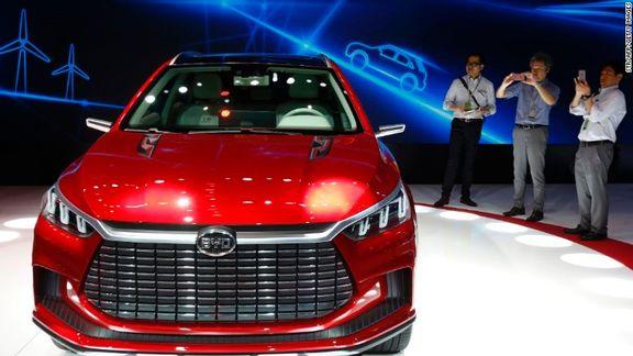 خبر توقف فعالیت برند خودرویی BYD در ایران کذب است