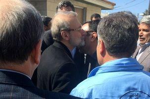 علی لاریجانی به دیدار مردم ترکمن رفت