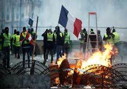 تظاهرات ۱۱ هزار جلیقه زرد در فرانسه