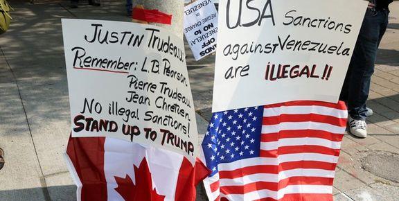 کنسول گری های ونزوئلا در کانادا موقتا به تعلیق درآمدند
