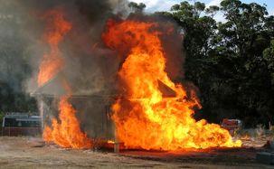 افزایش آمار آتش سوزی در کشور مغولستان