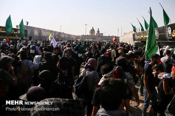 تعداد زائرانی که در 24 ساعت گذشته از مرز مهران گذشتند اعلام شد